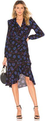 Diane von Furstenberg Jovie Wrap Dress