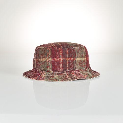 Polo Ralph Lauren Reversible Beach Bucket Hat