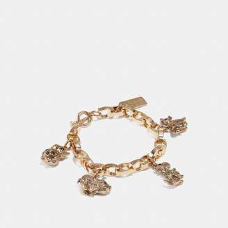 Coach Party Animals Charm Bracelet