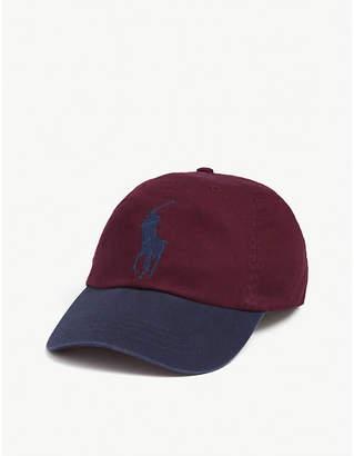 Polo Ralph Lauren Oversized pony logo cotton baseball cap