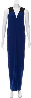 Zero Maria Cornejo Silk Maxi Dress