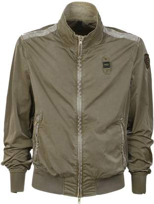 Blauer Fitted Collared Jacket