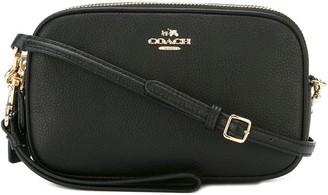 Coach top zip crossbody bag