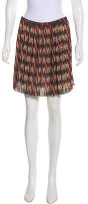 Etoile Isabel Marant Ikat Pleated Skirt w/ Tags