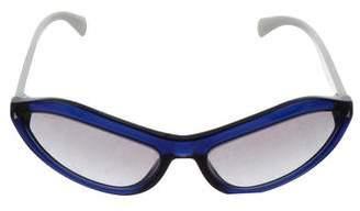 Prada Acetate Narrow Sunglasses