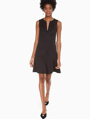 Kate Spade Bakery dot jacquard dress
