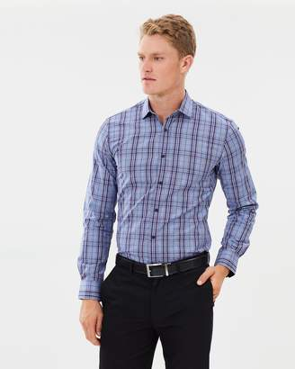 Brooksfield Luxe Prince of Wales Check Shirt