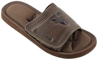 NCAA Kohl's Men's Virginia Cavaliers Memory Foam Slide Sandals