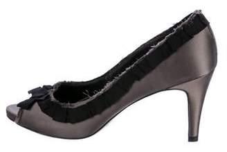 For sale online Pedro Garcia Leather Peep-Toe Pumps discount outlet store cheap best sale vXeW4qhJ