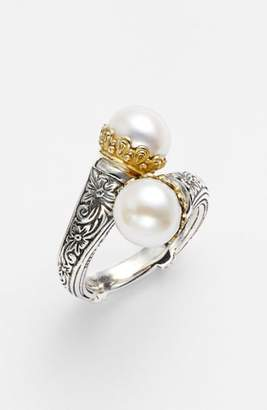 Konstantino 'Hermione' Pearl Coil Ring