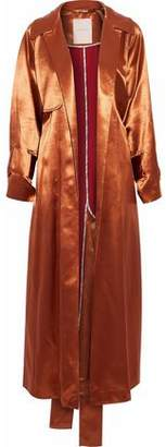 Roksanda Satin Trench Coat