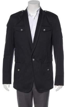 Balmain Woven Button-Up Jacket