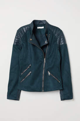 H&M Biker Jacket - Turquoise