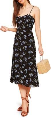 Reformation Cassandra Floral Dress