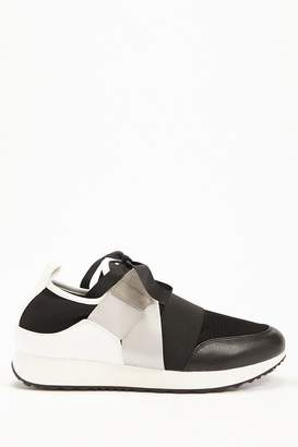 Forever 21 Strappy Low-Top Sneakers