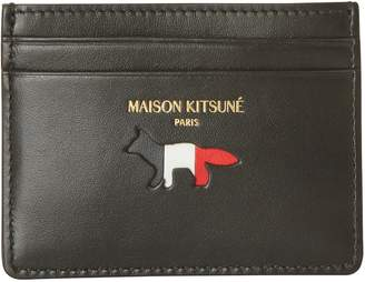 MAISON KITSUNÉ Leather card holder