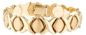Xo 14K Link Bracelet