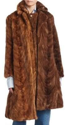 Vetements Milanesa Reworked Fur Coat