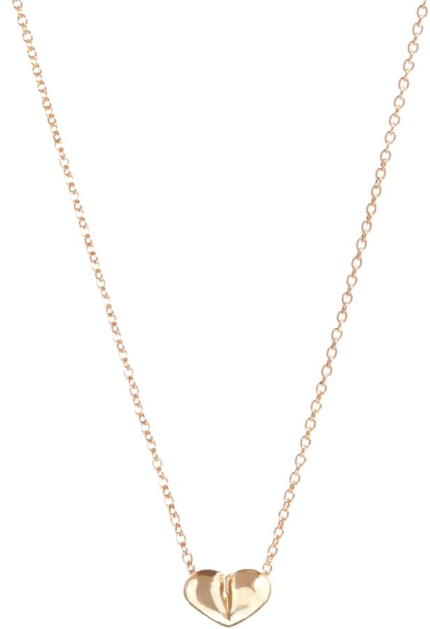 Asos 3D Heart Charm Necklace