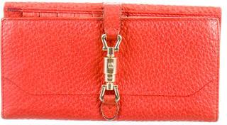 GucciGucci Piston Lock Continental Wallet