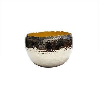Mela Artisans Holi Large Yellow Bowl