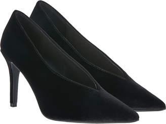 Monsoon Vivian Velvet High Vamp Court Shoes