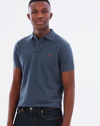 Polo Ralph Lauren Custom-Slim Fit Mesh Polo Shirt