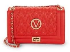 Mario Valentino Alice D Studded Leather Shoulder Bag