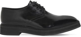 Alexander McQueen LEATHER LACE-UP DERBY SHOES