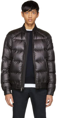 Prada Reversible Black Down Bomber Jacket