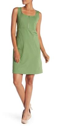 Lafayette 148 New York Amoya Front Zip Dress