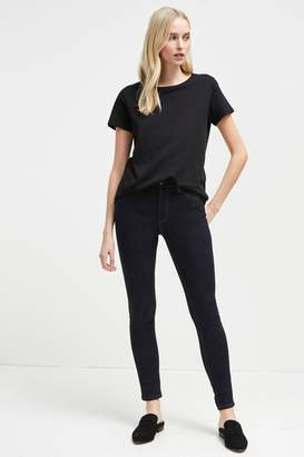 French Connenction Thermal Denim High Rise Skinny Jeans