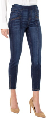 Liverpool Jeans Company Sienna Moto Denim Leggings
