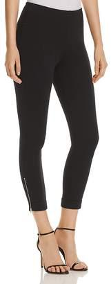 Lysse Denim Zip-Cuffed Crop Leggings - 100% Exclusive