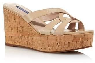 1b836734482 Stuart Weitzman Women s Cadence Wedge Sandals