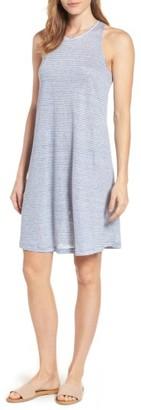 Women's Vineyard Vines Stripe Linen Knit Tank Dress $88 thestylecure.com
