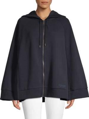 Burberry Hooded Full-Zip Cape