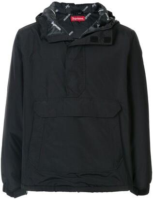Supreme half-zip pullover