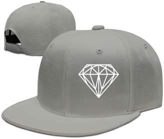 Plain Logo Baseball Cap Polo Safari Dad Hat Solid Color Quzim Diamond 3e8672478928