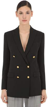 Tagliatore Oversize Double Breasted Cady Jacket
