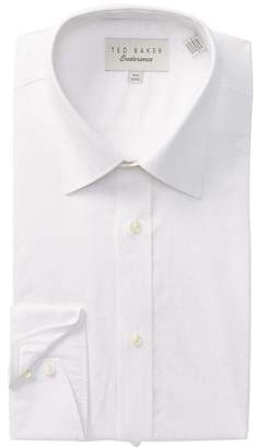 Ted Baker Leaf Print Trim Fit Dress Shirt