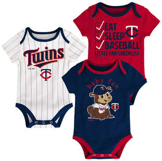 Outerstuff Minnesota Twins Play Ball 3-Piece Set, Infants (0-9 Months)
