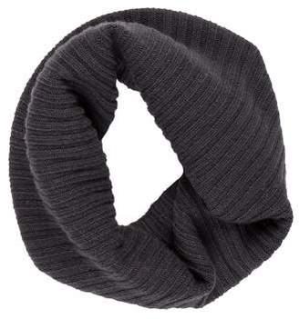Max Mara Rib Knit Infinity Scarf