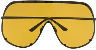 Rick Owens shield sunglasses