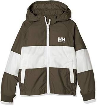 Helly Hansen (ヘリー ハンセン) - [ヘリーハンセン] K Tri Bergen Jacket HOJ11806 キッズ シダーグリーン 日本 100 (日本サイズ100 相当)