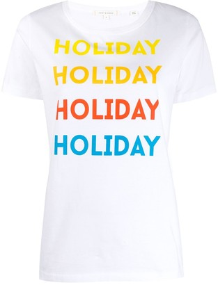 Parker Chinti & holiday T-shirt