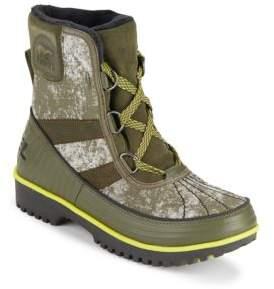 Tivoli II Lace-Up Snow Boots $130 thestylecure.com