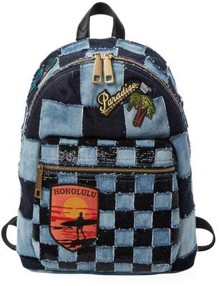 Marc Jacobs Women's Denim Patchwork Backpack