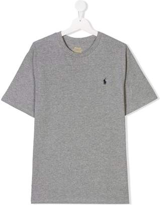 Ralph Lauren TEEN embroidered logo T-shirt
