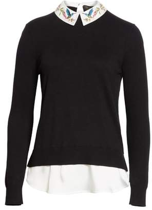 Ted Baker Highgrove Layered Look Sweater